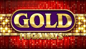 Gold Megaways logo achtergrond