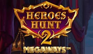 Heroes Hunt 2 Megaways logo achtergrond