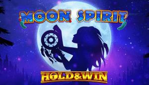 Moon Spirit Hold & Win logo achtergrond