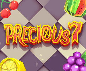 Precious 7 logo achtergrond