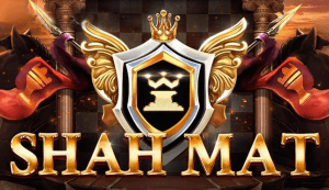 Shah Mat logo achtergrond