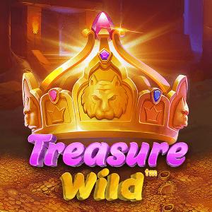 Treasure Wild logo achtergrond