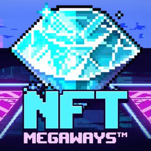 NFT Megaways logo achtergrond