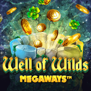 Well of Wilds Megaways logo achtergrond