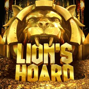 Lion's Hoard logo achtergrond
