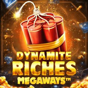 Dynamite Riches Megaways logo achtergrond