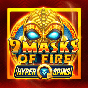 9 Masks of Fire Hyper Spins logo achtergrond