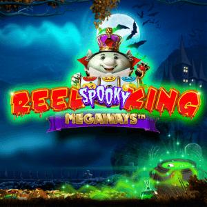 Reel Spooky King Megaways logo achtergrond