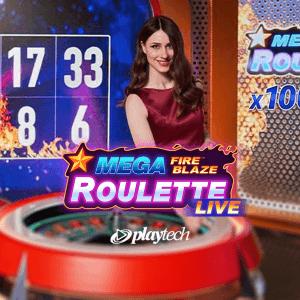 Mega Fire Blaze Roulette Live