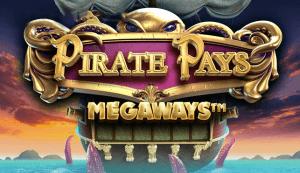 Pirate Pays Megaways logo achtergrond