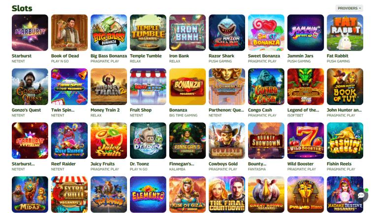 Insta.Win Casino Screenshot 2