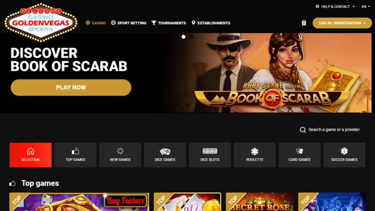Golden Vegas Casino Screenshot 1