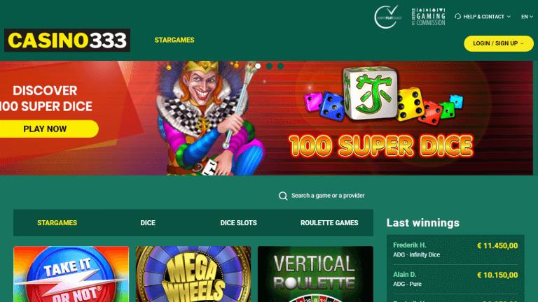 Casino333 Screenshot 1
