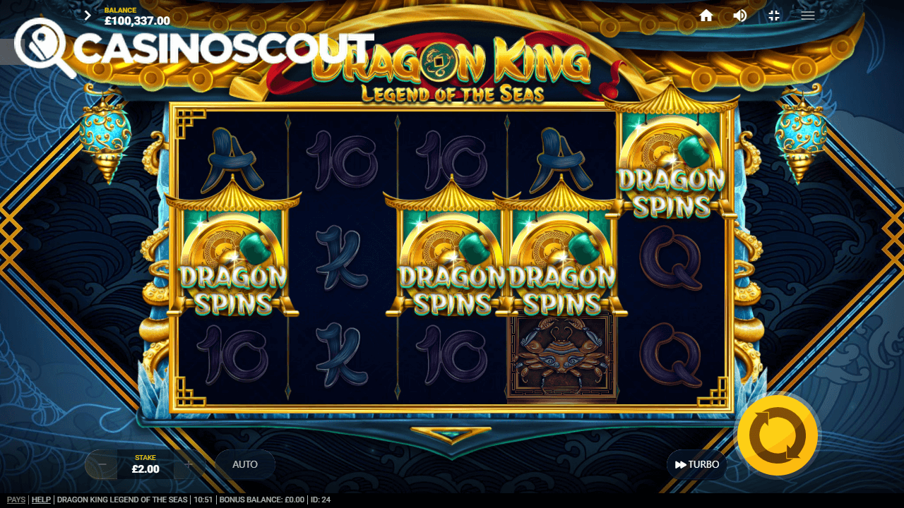 Scatters for Free Spins