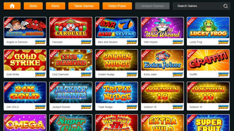 GoldRun Casino Screenshot 3
