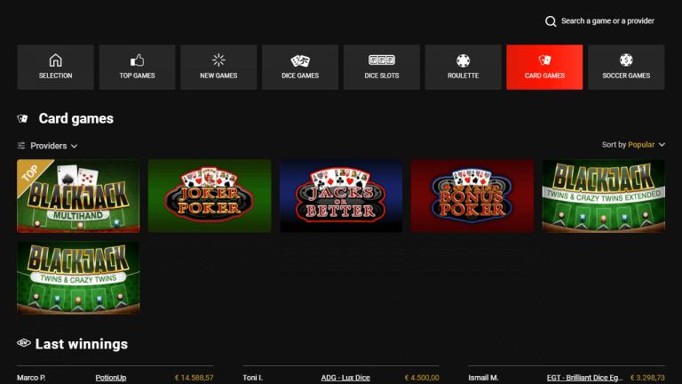 Golden Vegas Casino Screenshot 3