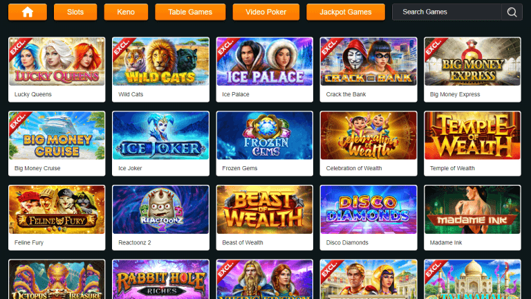 GoldRun Casino Screenshot 2
