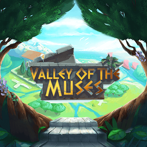Valley of the Muses logo achtergrond