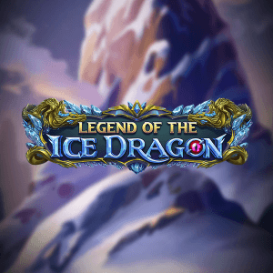 Legend of the Ice Dragon logo achtergrond