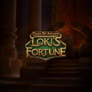 Tales Of Asgard Loki's Fortune logo achtergrond