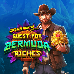 John Hunter and the Quest for Bermuda Riches logo achtergrond