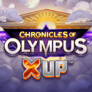 Chronicles of Olympus X UP logo achtergrond