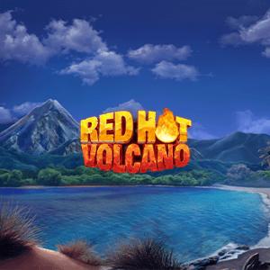 Red Hot Vulcano logo achtergrond