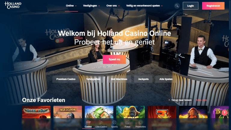 Holland Casino Online Screenshot 1