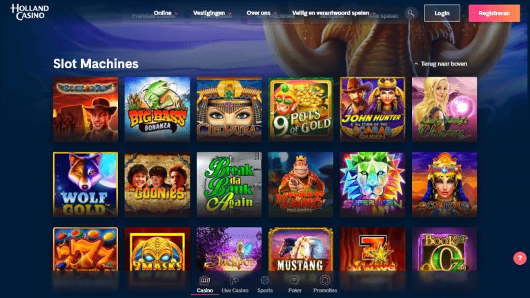 Holland Casino Online Screenshot 2
