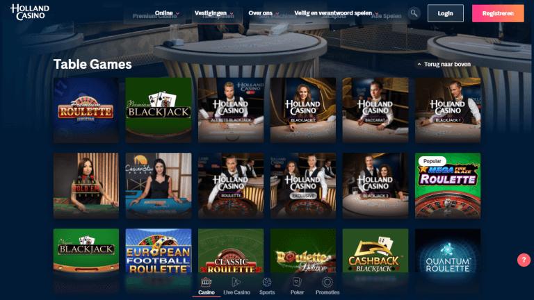 Holland Casino Online Screenshot 3