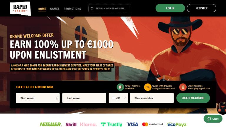 Rapid Casino Screenshot 1